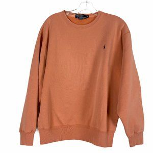 Vintage Polo Ralph Lauren Orange Crew Sweatshirt